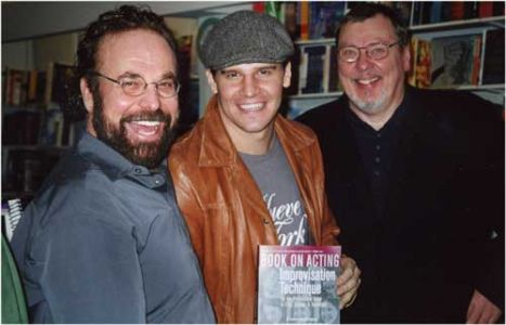 Book, David Boreanaz & Larry Drake
