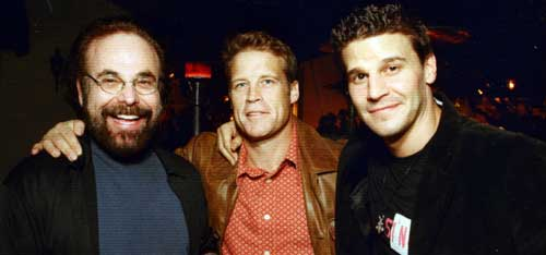 Book, Mark Valley & David Boreanaz